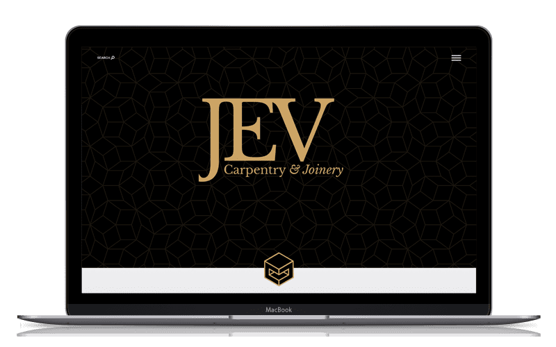 Diseño Web JEV Carpentry 1