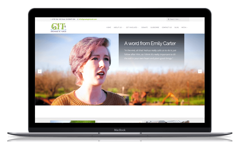 Web Design GIT Heirloom Farm 1