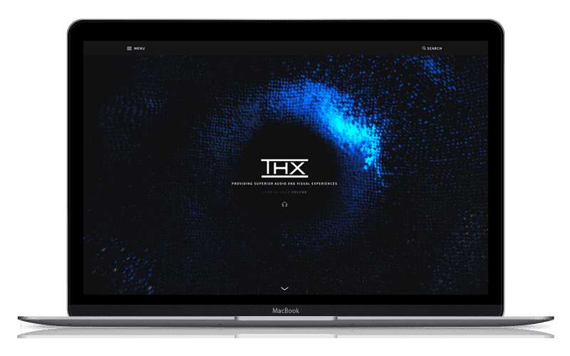 Web Design for THX