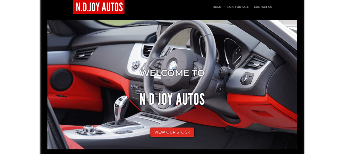 Diseño Web N.D. Joy Autos 2