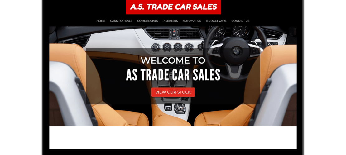 Diseño Web A.S. Trade Car Sales 4