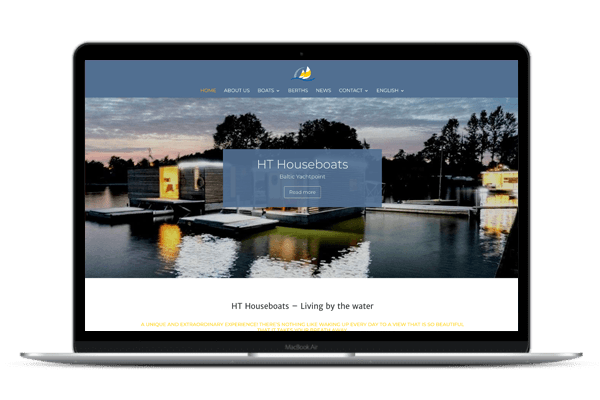 Web Design HT Houseboats