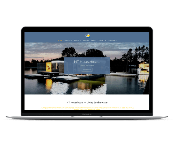 Web Design HT Houseboats 3