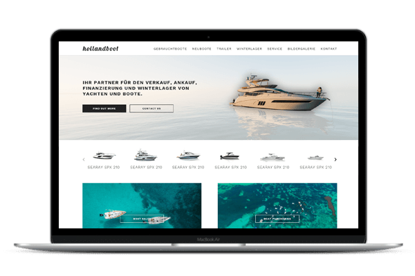 Web Design Hollandboot