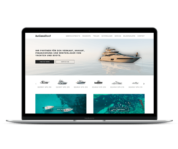 Diseño Web Hollandboot 1