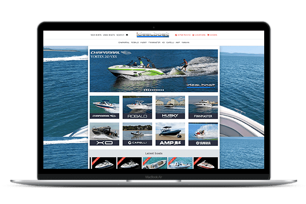 Web Design IdealBoat