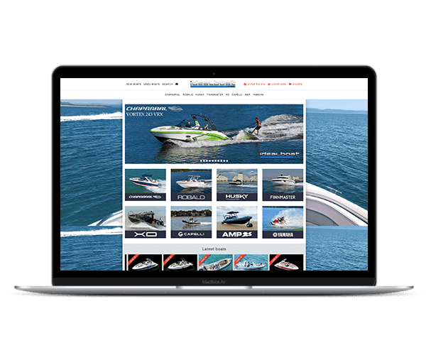 Web Design IdealBoat 1