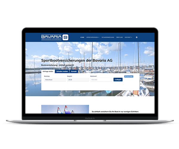 web design for the marine industry