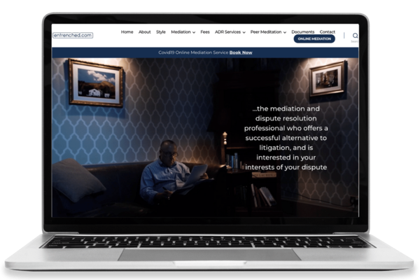 Entrenched – Web Design