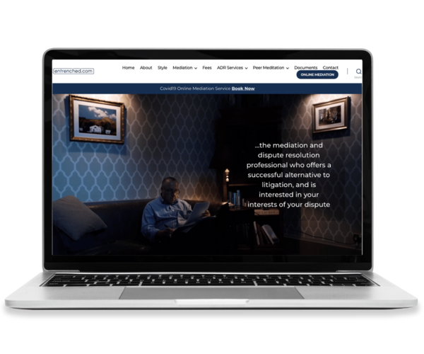 Entrenched - Web Design 1