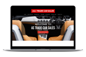 Car Dealer Website Example